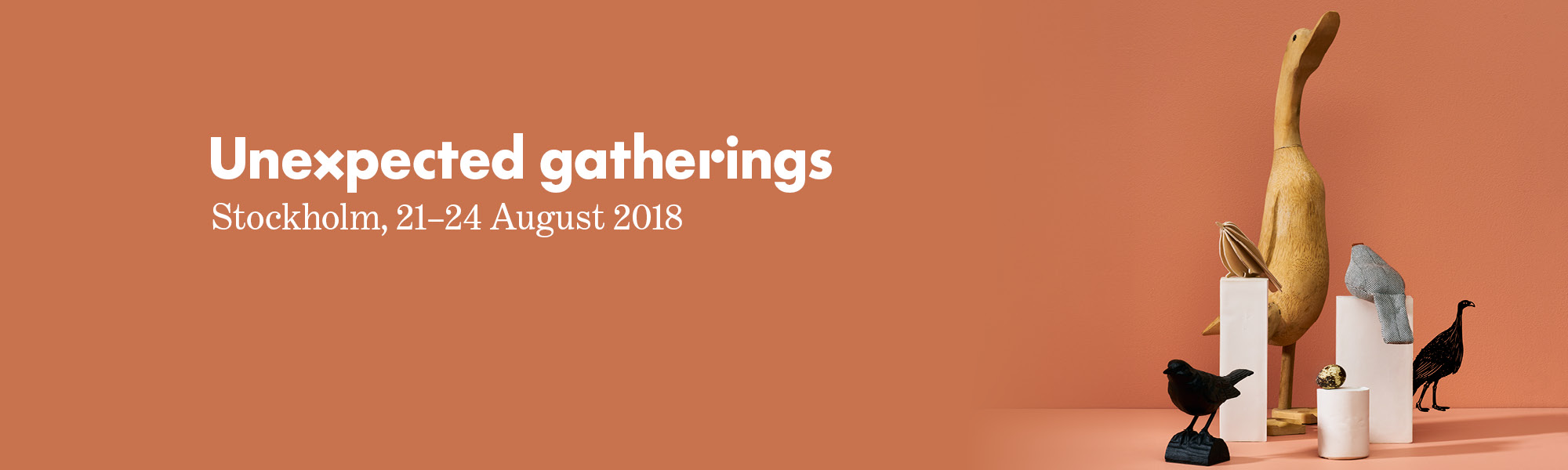 Unexpected gatherings Formex 2018